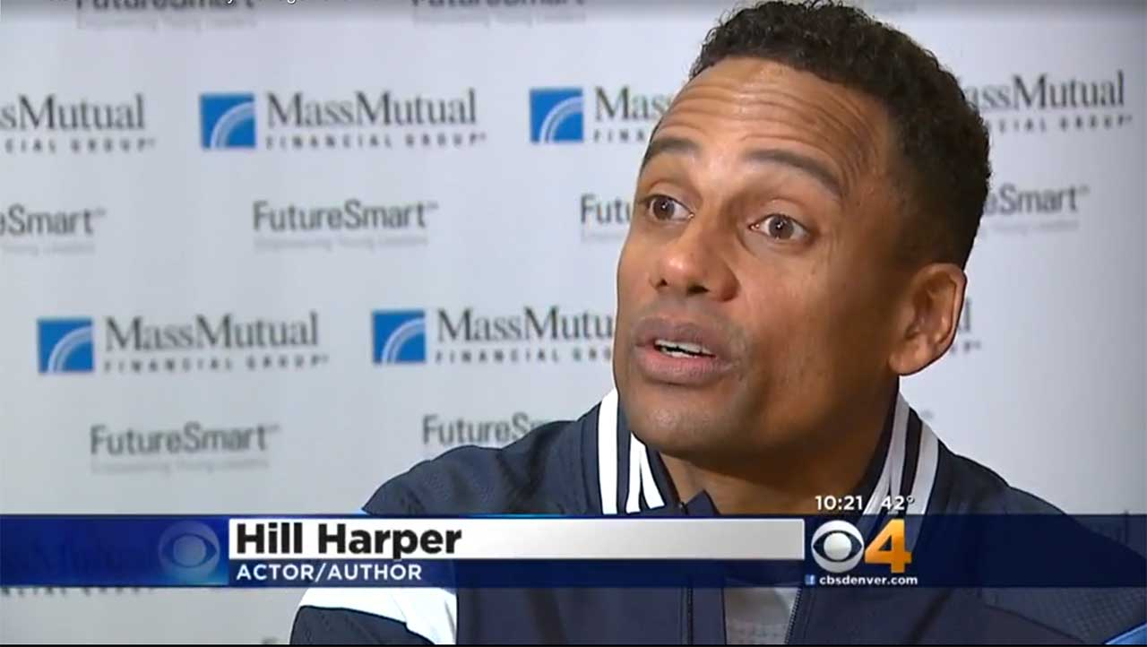 Screenshot of news clip about FutureSmart